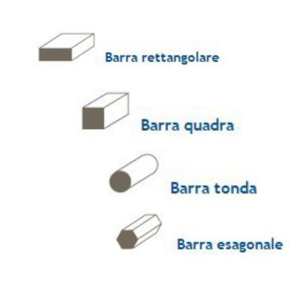 Barre in ferro ferro for Quotazione barra ottone